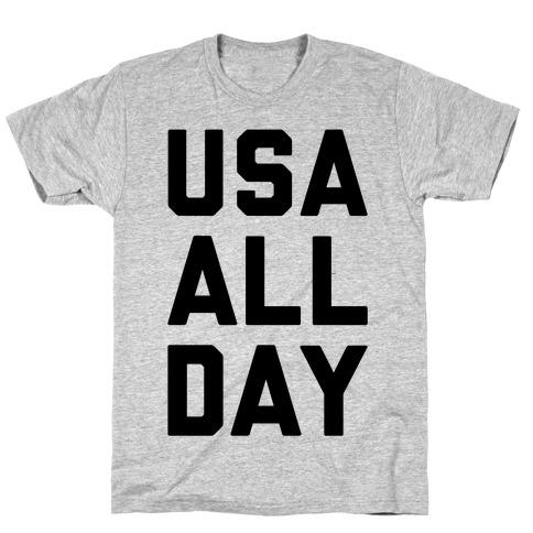 USA All Day T-Shirt