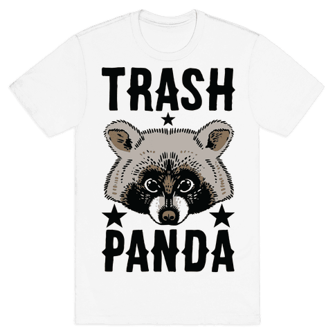 HUMAN Trash Panda Clothing Tee
