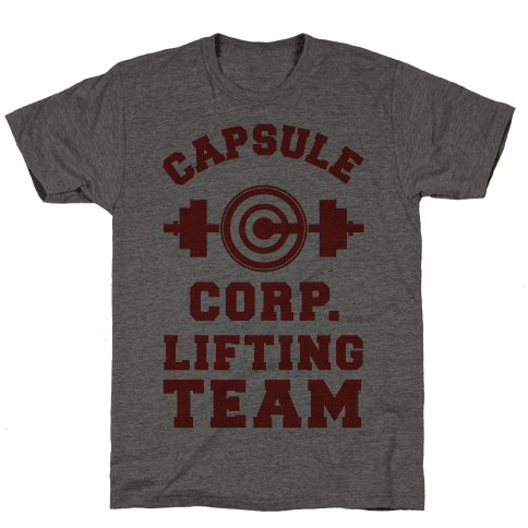 Capsule Corp. Lifting Team