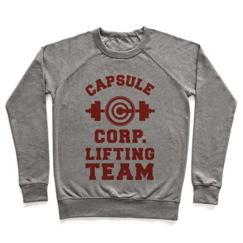 Capsule Corp. Lifting Team Pullover