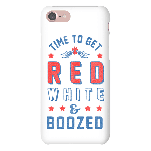 Red, White, and Boozed Phone Case