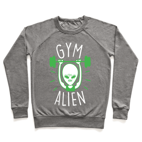 Gym Alien Lifting Pullover