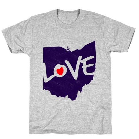 Love Ohio T-Shirt