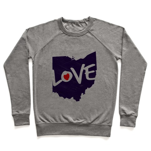 Love Ohio Pullover