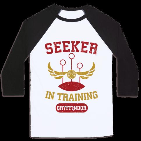 Seeker In Training (Gryffindor) Baseball Tee