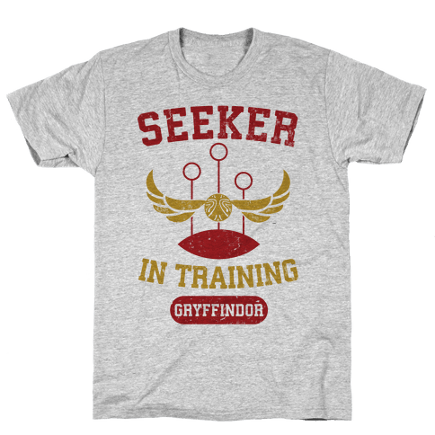 Seeker In Training (Gryffindor) Mens T-Shirt