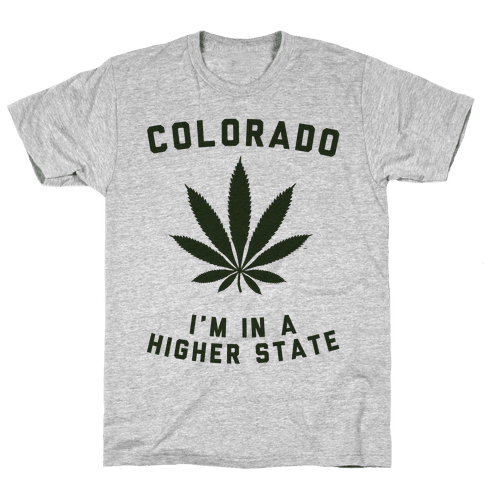 Colorado State of Mind Mens T-Shirt