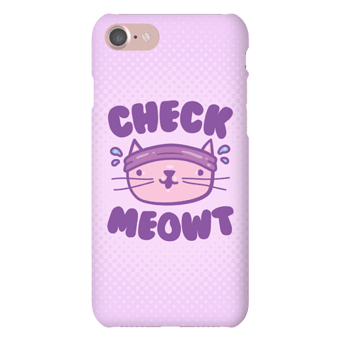 Check Meowt Phone Case