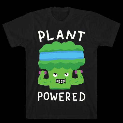 Plant Powered Mens T-Shirt