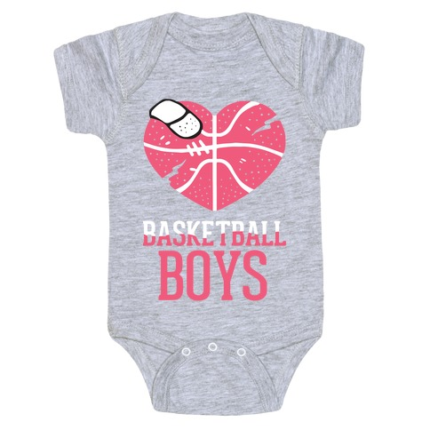 Basketball Boys Baby Onesy