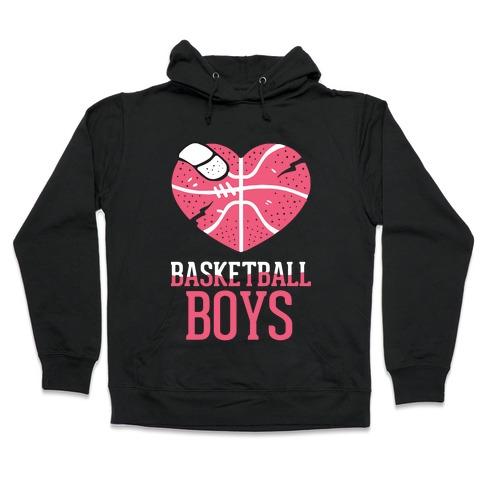 Basketball Boys Hooded Sweatshirt