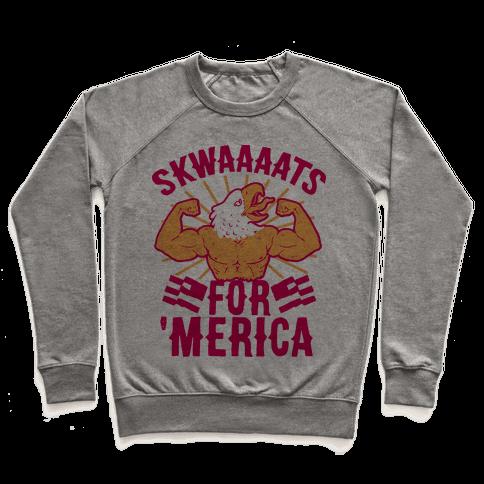Skwaaaats For 'Merica Pullover