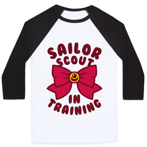 Sailor Scout In Training Baseball Tee