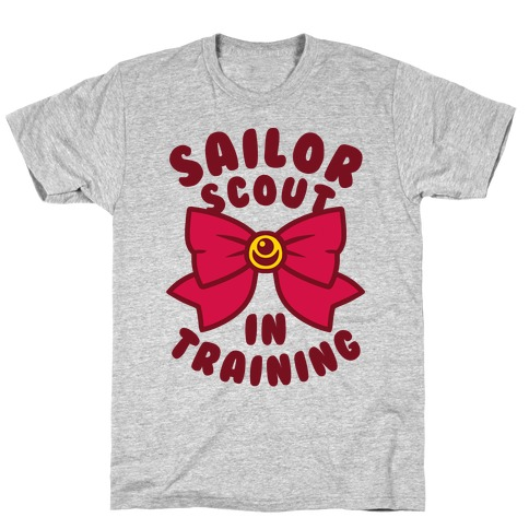Sailor Scout In Training Mens/Unisex T-Shirt