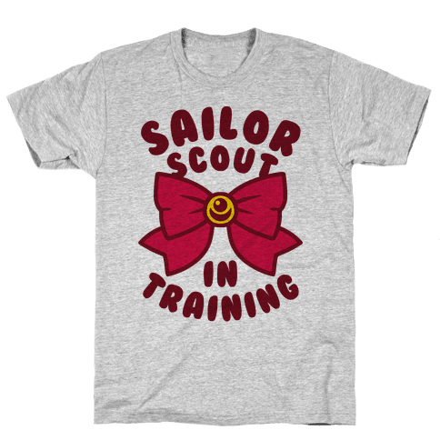 Sailor Scout In Training Mens T-Shirt