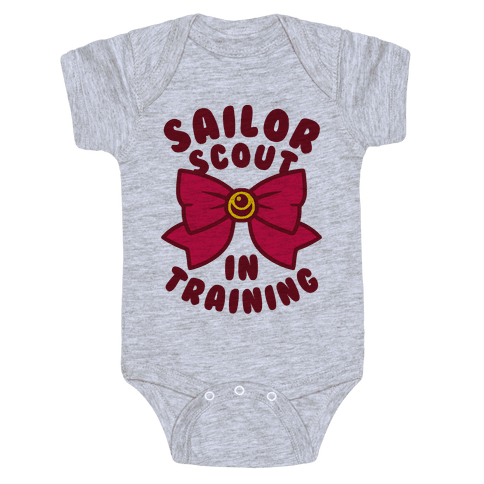 Sailor Scout In Training Baby Onesy