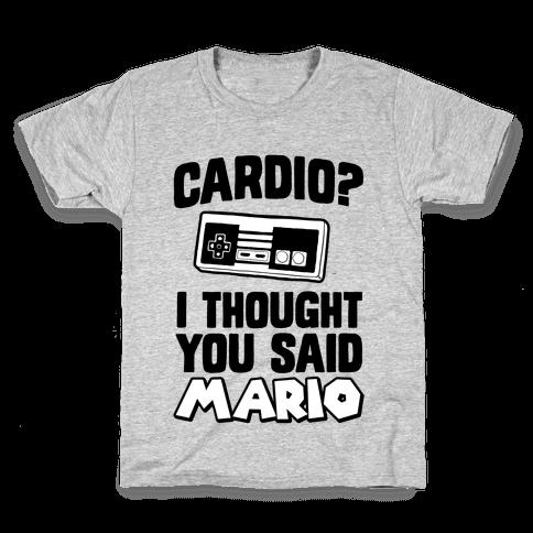 I Thought You Said Mario Kids T-Shirt