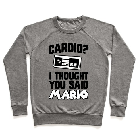 I Thought You Said Mario Pullover