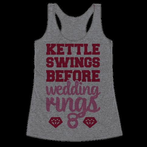 Kettle Swings Before Wedding Rings