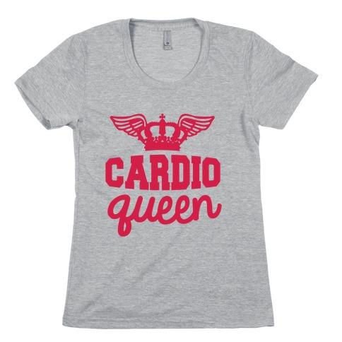 Cardio Queen Womens T-Shirt