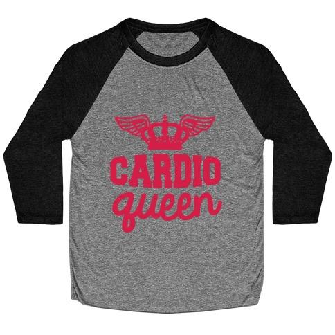 Cardio Queen Baseball Tee