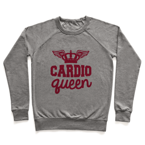 Cardio Queen Pullover