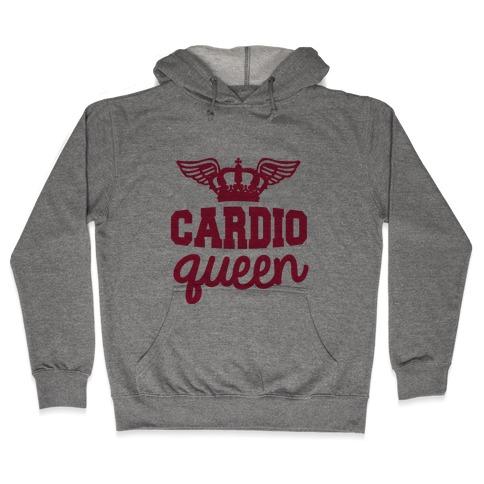 Cardio Queen Hooded Sweatshirt
