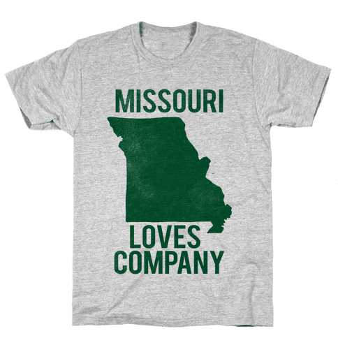 Missouri Loves Company Mens T-Shirt