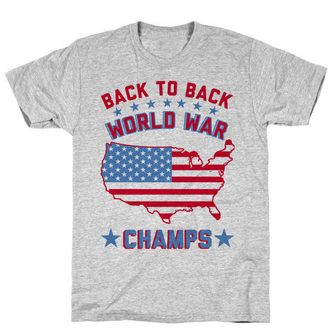 Back to Back World War Champs