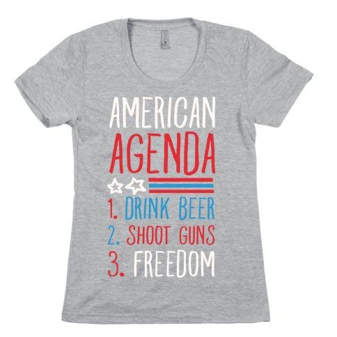American Agenda Womens T-Shirt