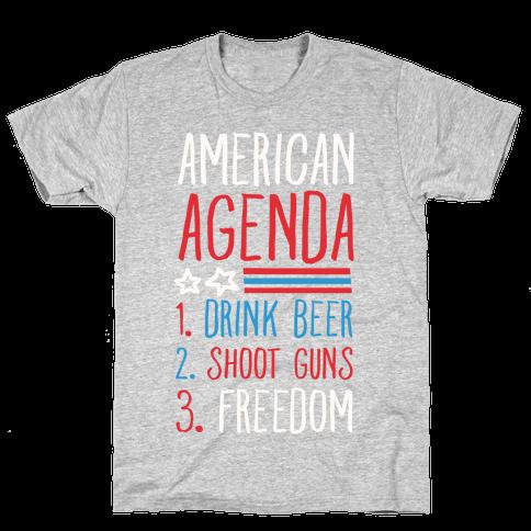 American Agenda Mens T-Shirt