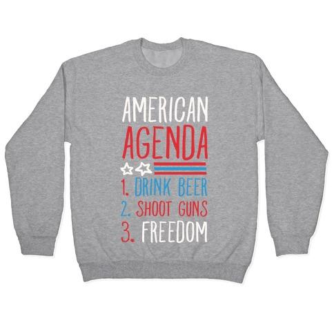 American Agenda Pullover