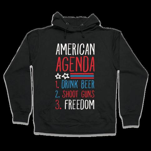 American Agenda Hooded Sweatshirt