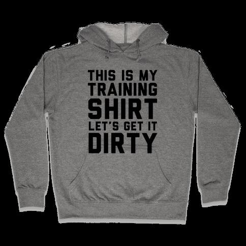 Training Shirt Hooded Sweatshirt