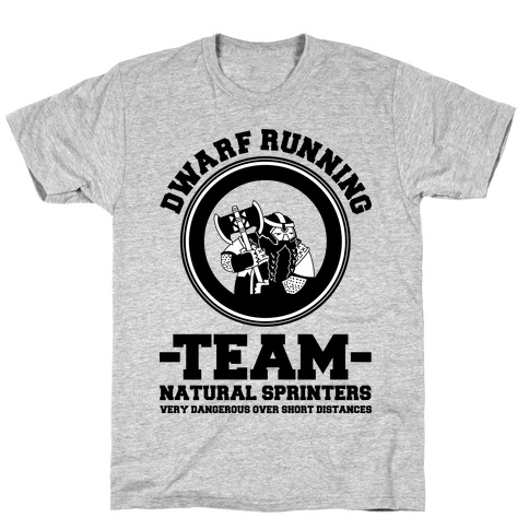Dwarf Running Team T-Shirt