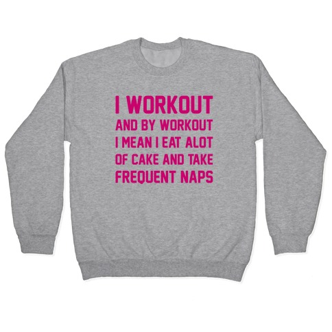 I WORKOUT Pullover