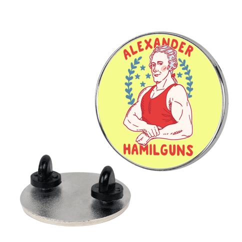 Alexander HamilGUNS pin