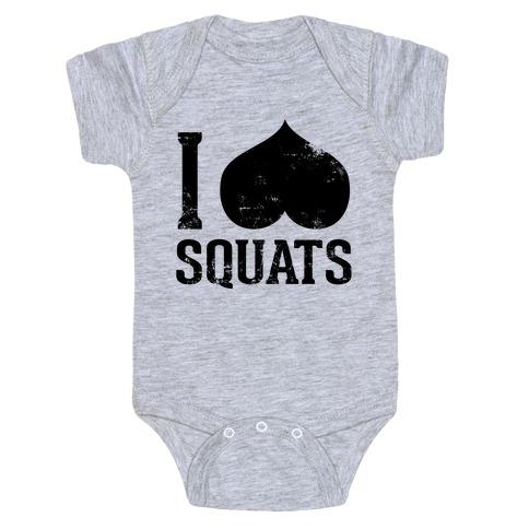 Squats (Tank) Baby Onesy