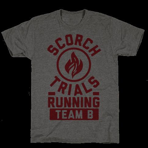 Scorch Trials Running Team B