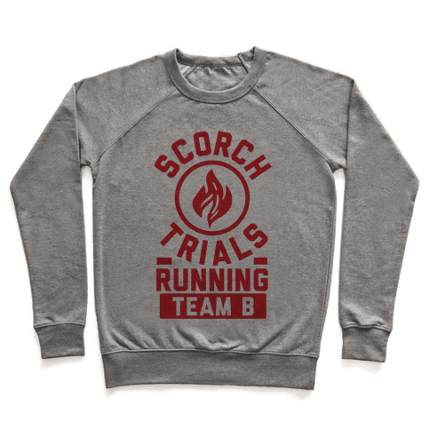 Scorch Trials Running Team B Pullover