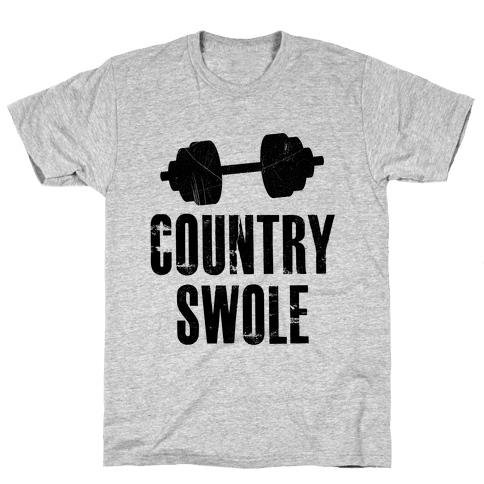 Country Swole Mens T-Shirt