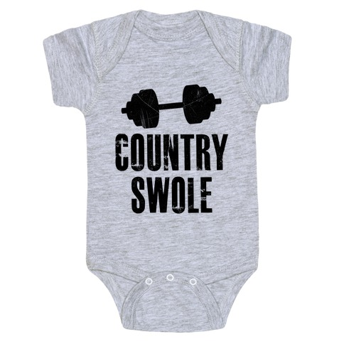 Country Swole Baby Onesy