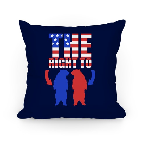 The Right to Bear Arms Pillow