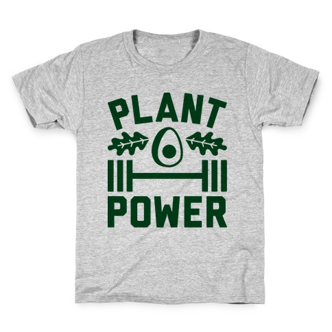 Plant Power Kids T-Shirt