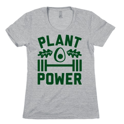 Plant Power Womens T-Shirt