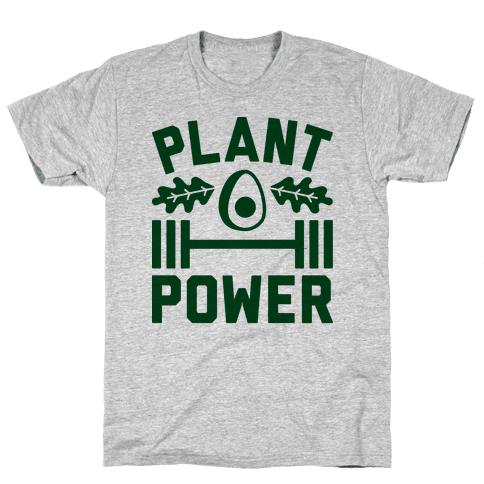 Plant Power Mens T-Shirt