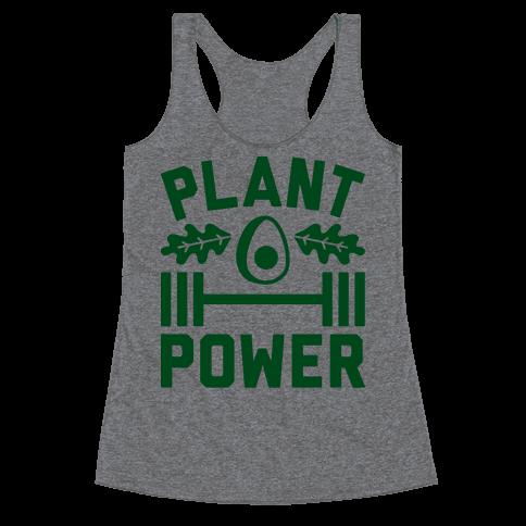 Plant Power Racerback Tank Top
