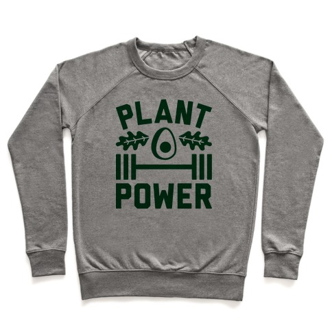 Plant Power Pullover