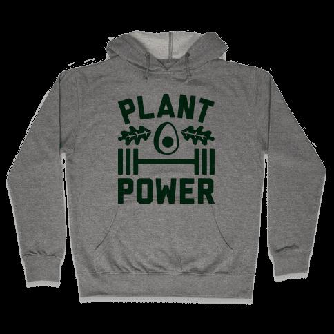 Plant Power Hooded Sweatshirt
