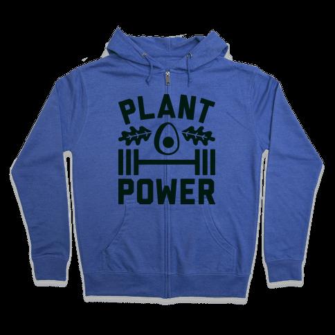 Plant Power Zip Hoodie